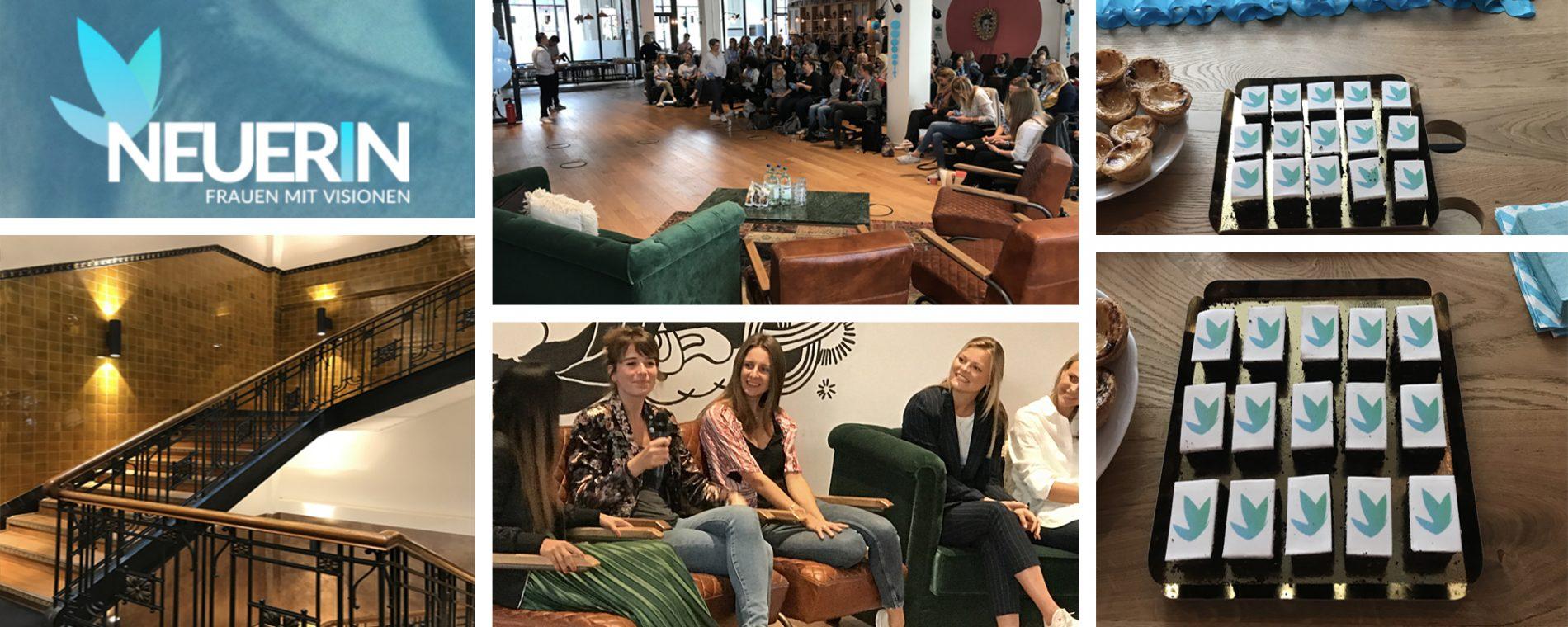 Networking- DIGITAL Frauen treffen sich beim NEUERIN Kick Off Event