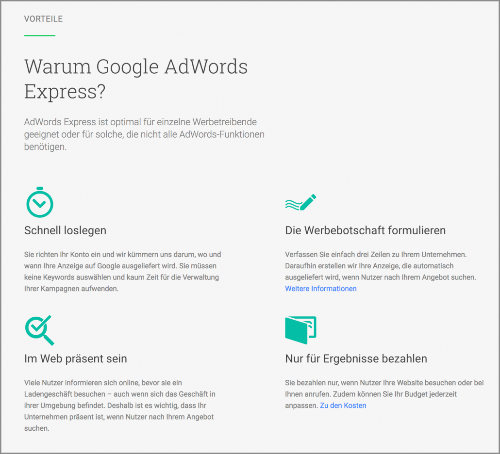 DIGITAL Marketing Expert | erklärt Google AdWords Express