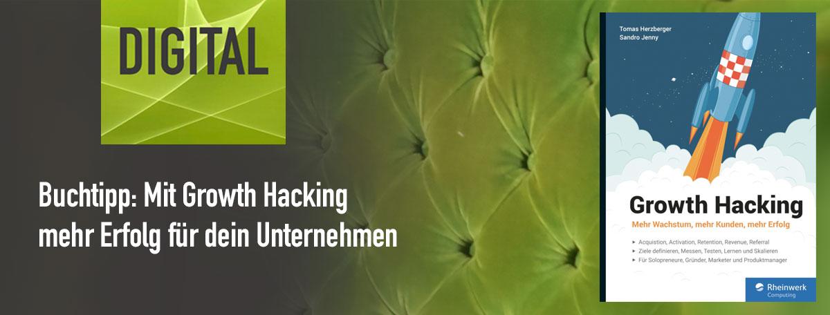 Buchtipp Growth Hacking - Beitragsbild