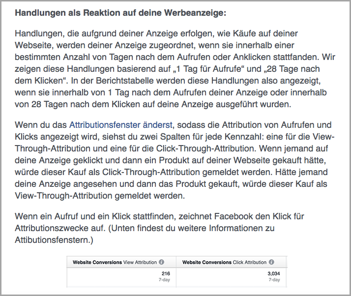 DIGITAL Marketing Expert | Screenshot aus facebook business – Hilfebereich für Werbetreibende