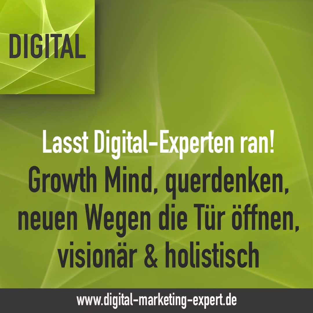lasst Digital-Experten ran | DIGITAL Marketing Expert
