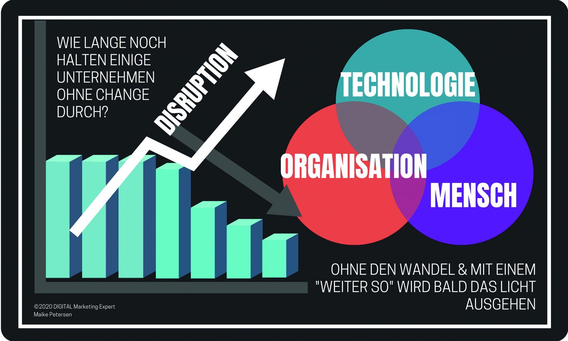 Disruption - Digitale Transformation - ROCK YOUR DIGITAL BUSINESS - Buch Maike Petersen