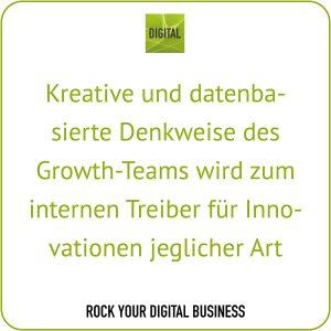 Growth-Hacking-Prozess - Daten und Growth-Denkweise - Statement Maike Petersen, DIGITAL | ROCK YOUR DIGITAL BUSINESS