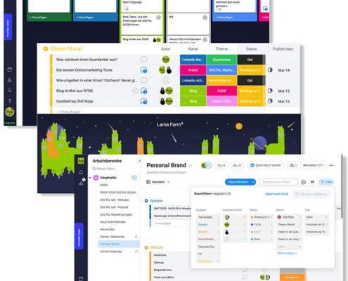 Die besten Freelancer Online Marketing Tool - monday