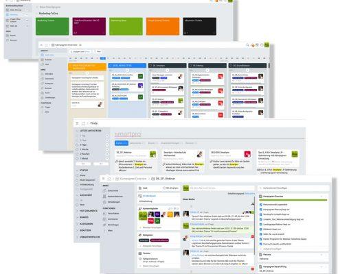 KanBo Projektanagement Tool Screenshot)