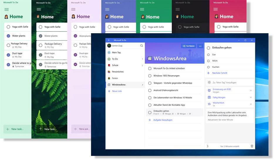Microsoft ToDo - Tool Screenshot
