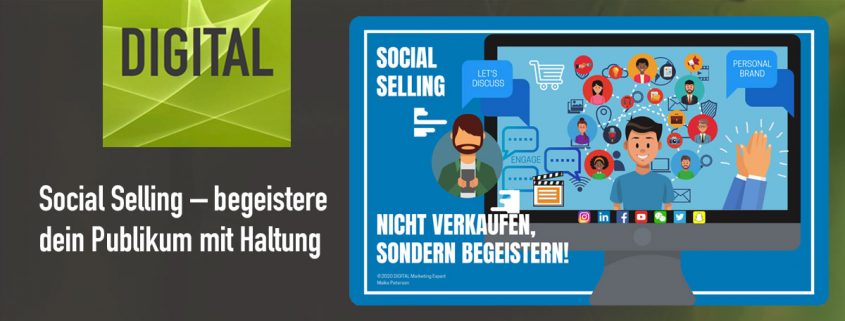 Social Selling | DIGITAL Marketing Expert Maike Petersen - Beitragsbild
